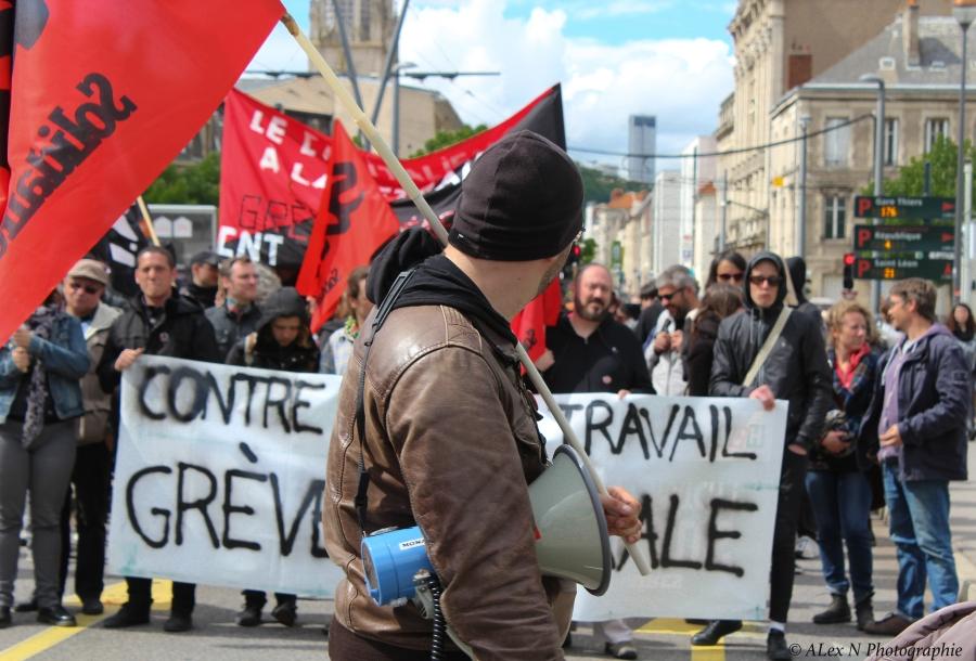 Loi travail: forte mobilisation àNancy