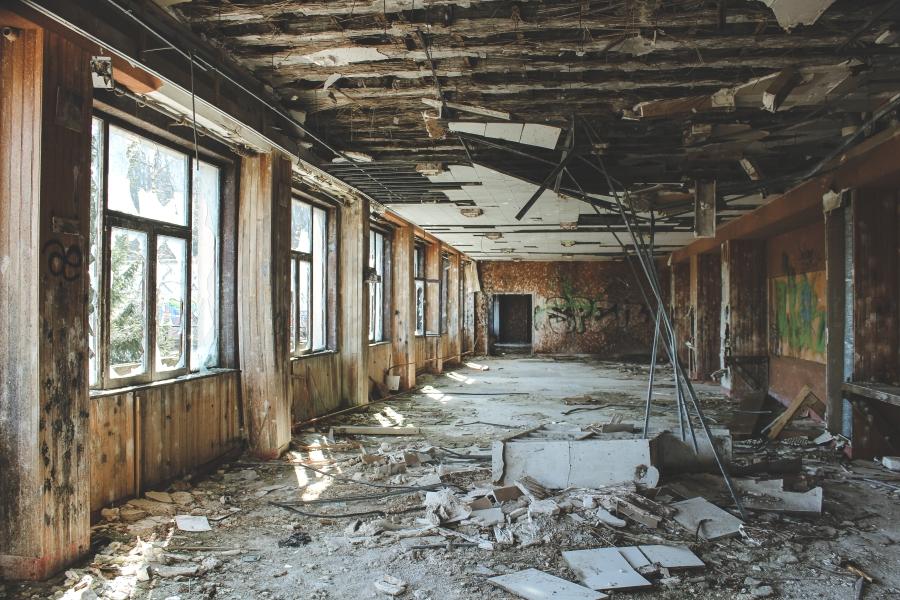 Découverte d'un hôtel désaffecté – URBEX#4